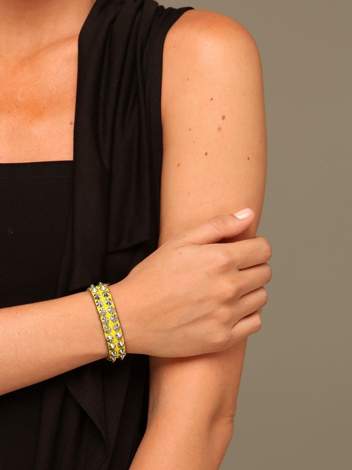 Iconics Leather Bracelet