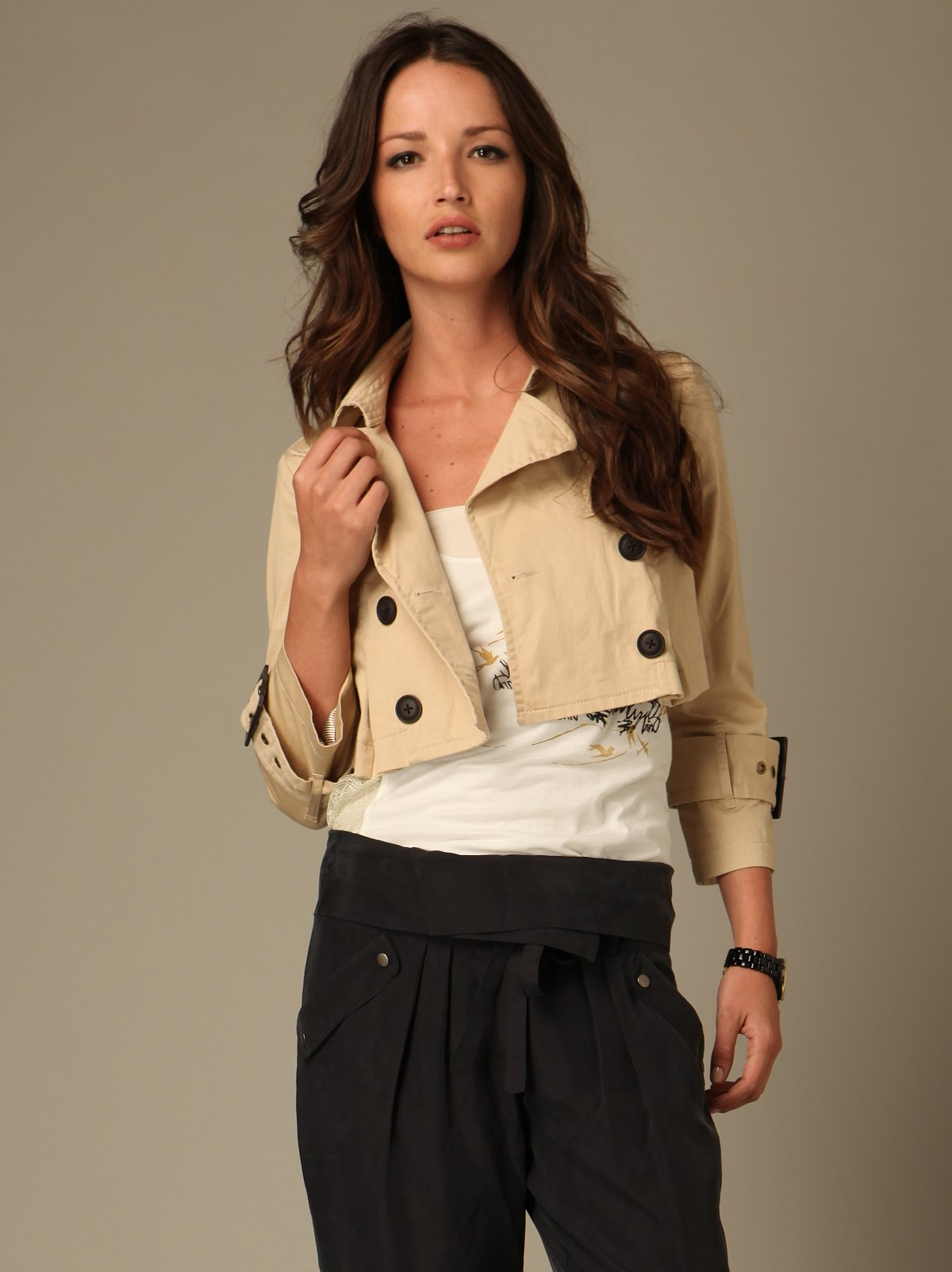 Bootleg Cropped Trench