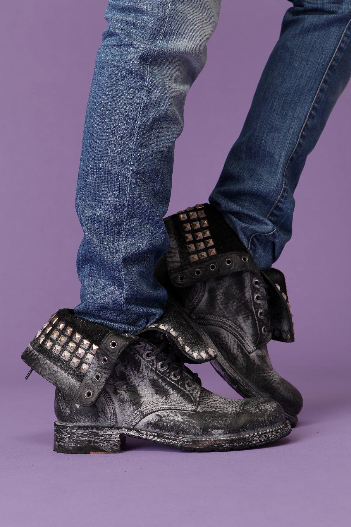 Bleach Black Boot by Frye