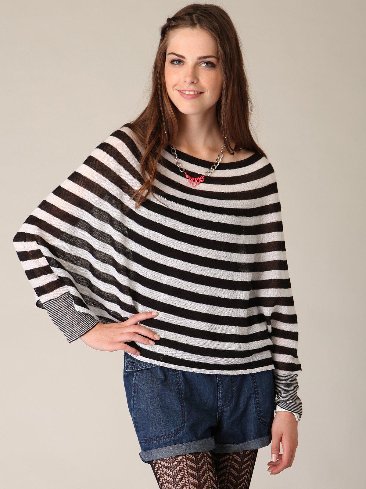 Stripe Roundabout Sweater