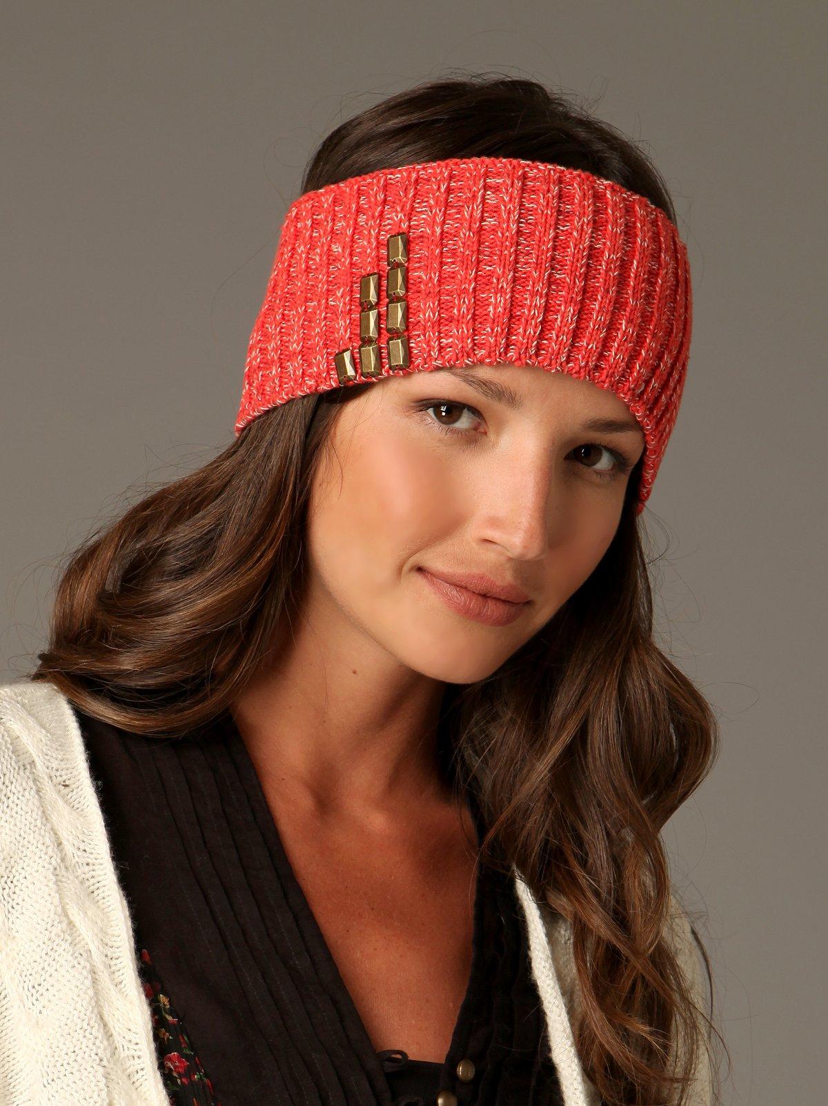 Studded Rib Headband