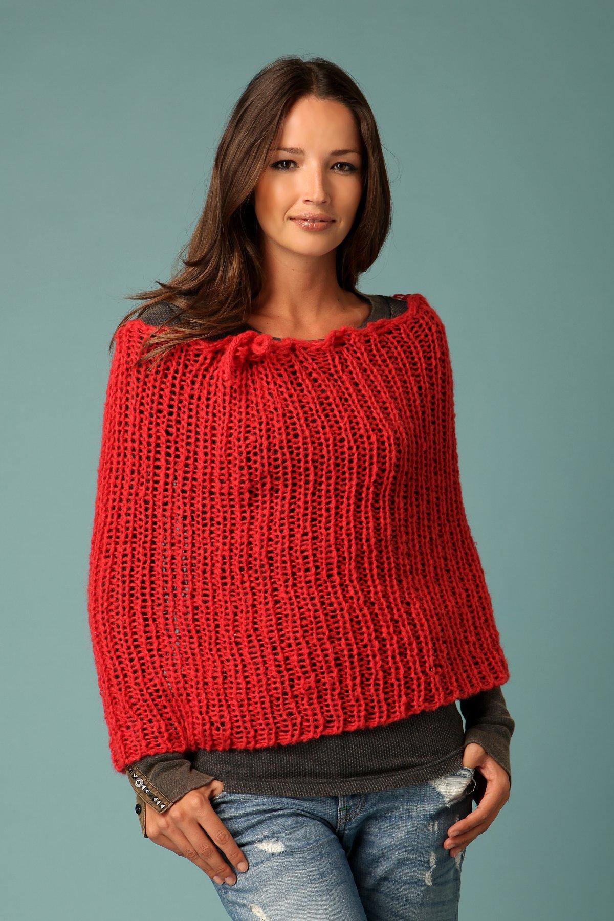Vintage Crochet Shoulder Warmer