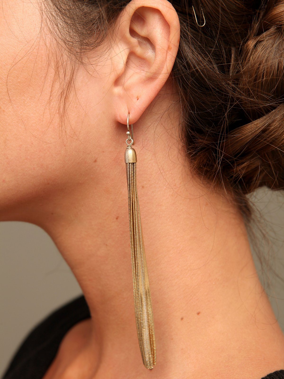 Liquid Metal Earrings