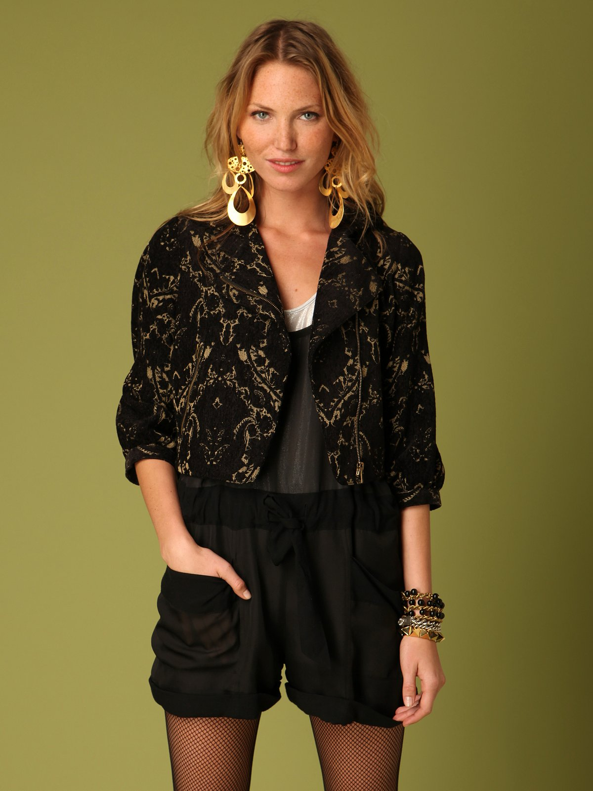 Mystic Brocade Jacket