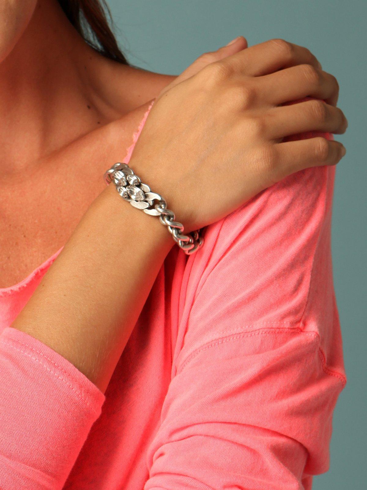 Large Harlow ID Bracelet