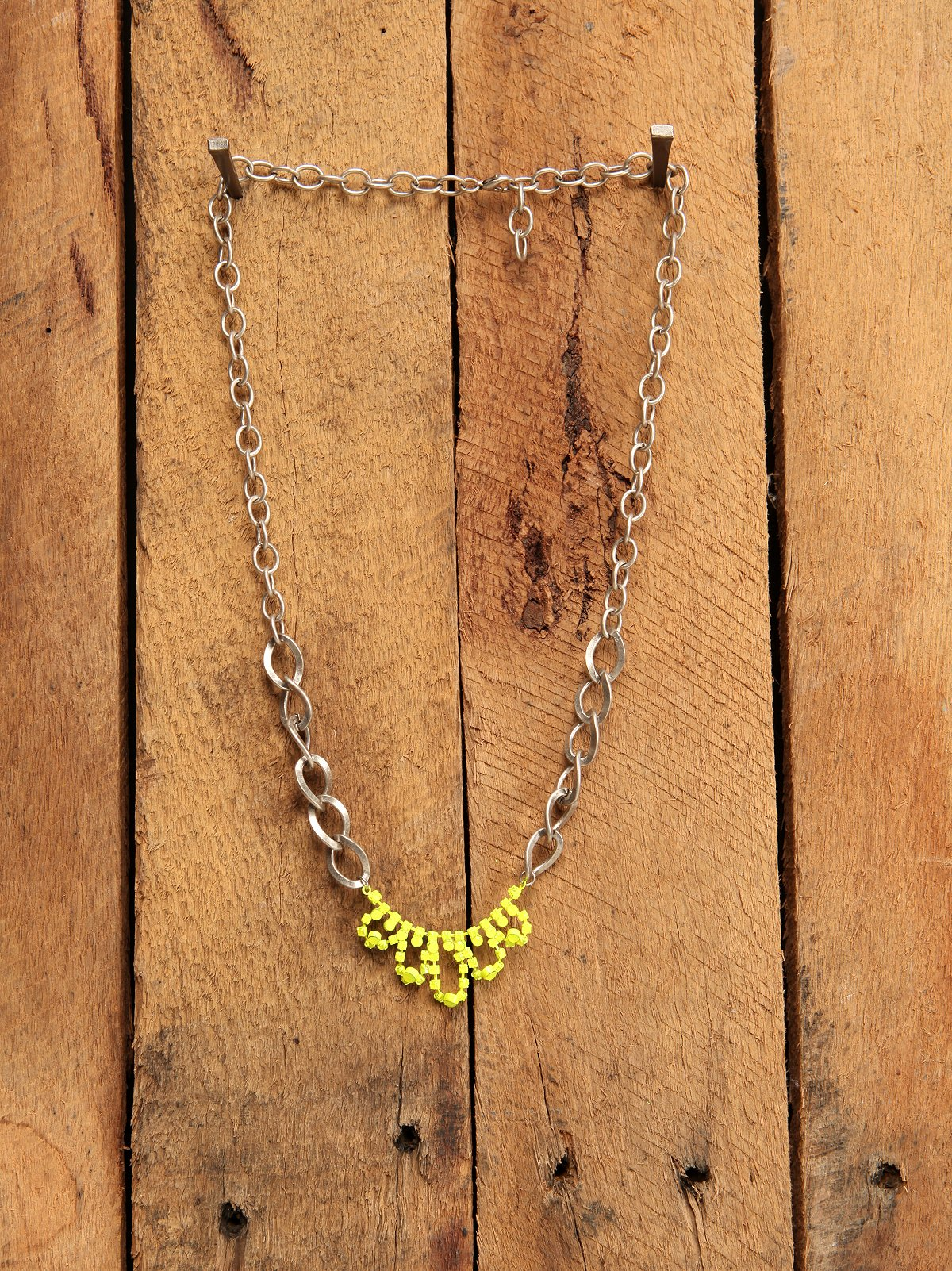 Neon Tiara Necklace