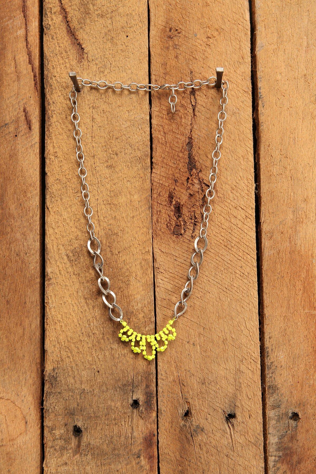 Neon Tiara Necklace