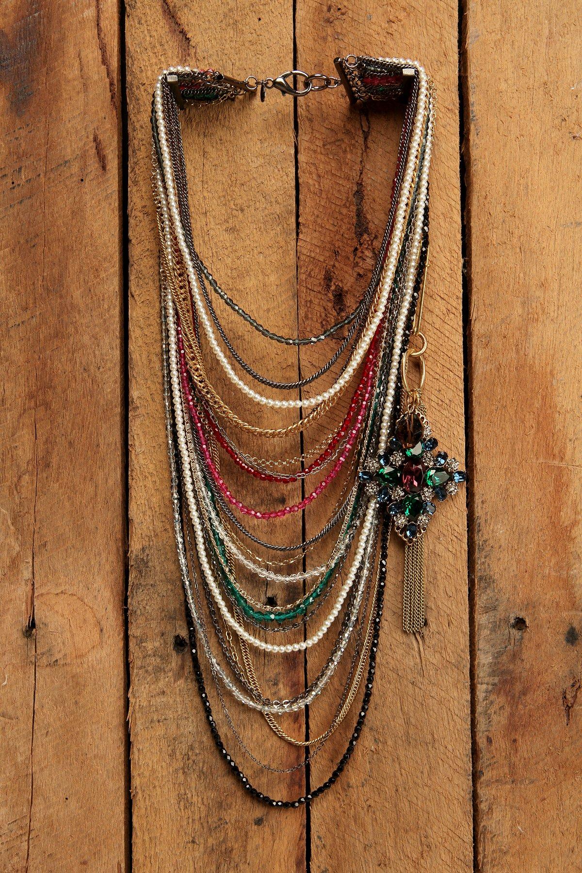 Gem Stranded Necklace