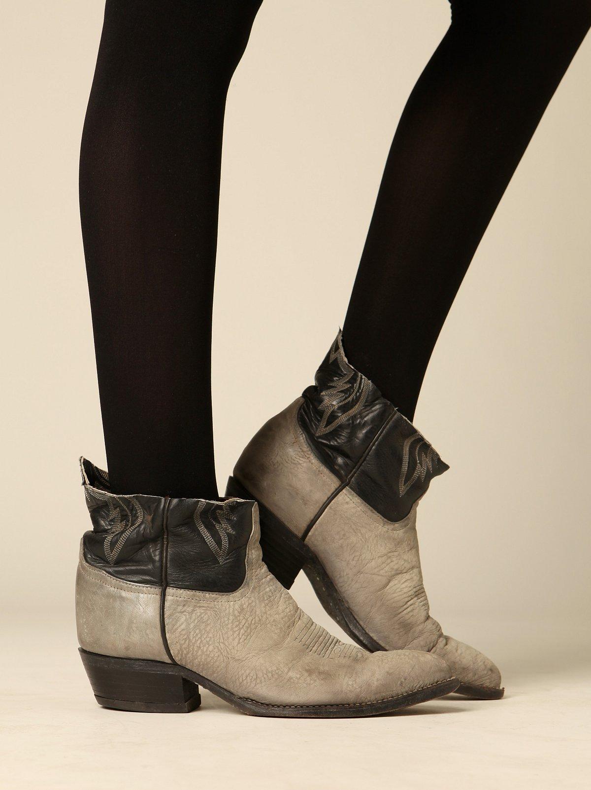 Vintage Cutoff Cowboy Boots
