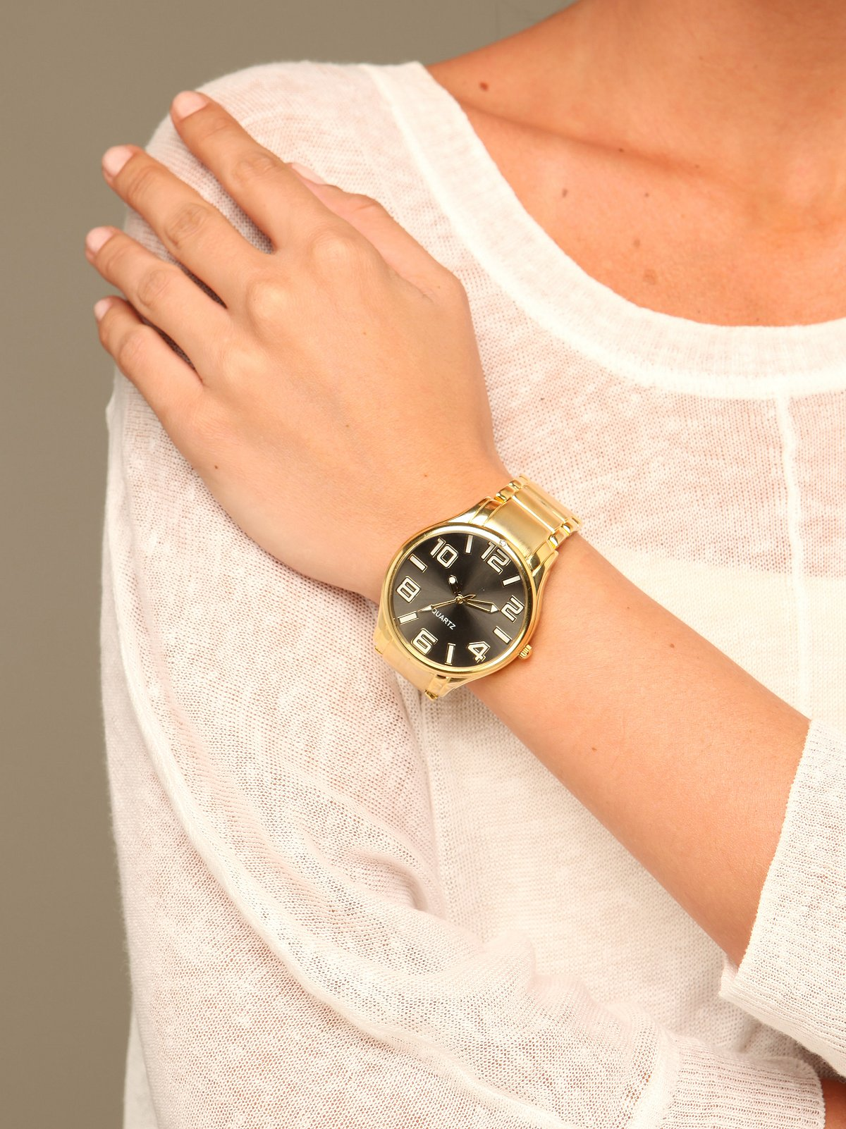 Oversized Boyfriend Watch