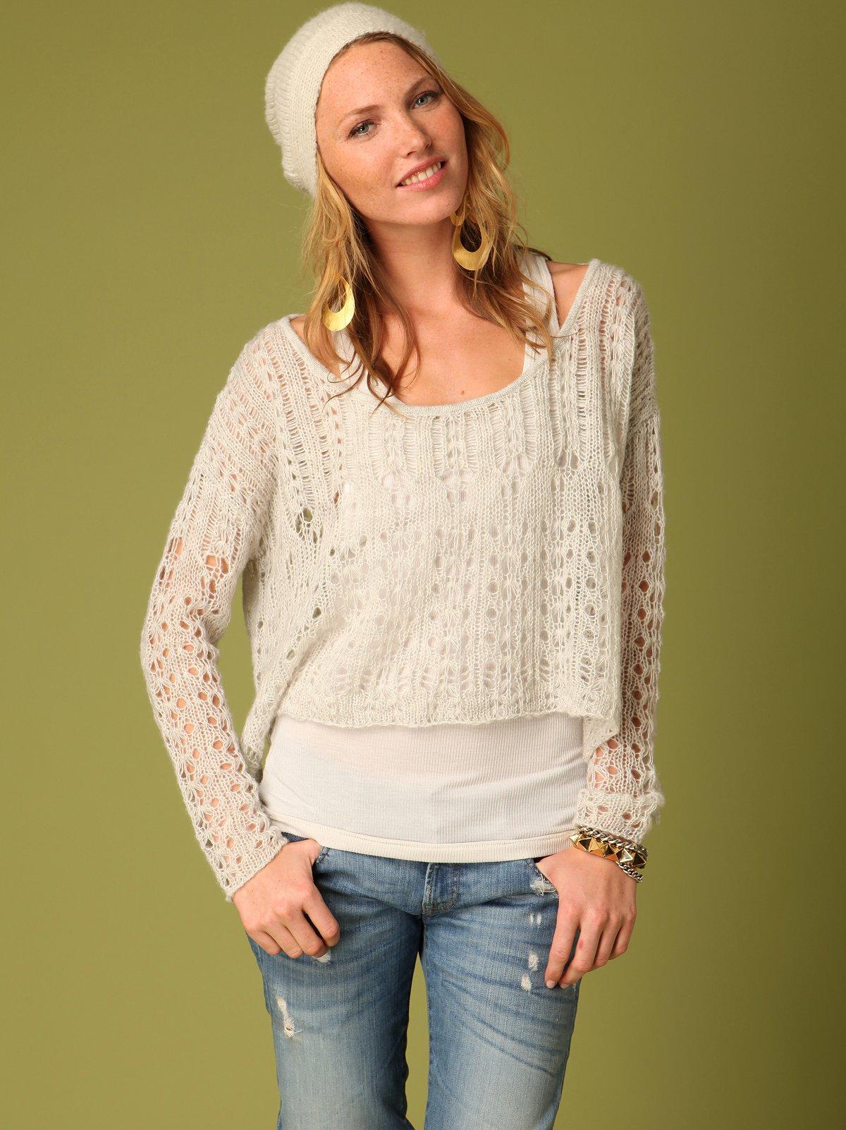 Leona Open Stitch Sweater