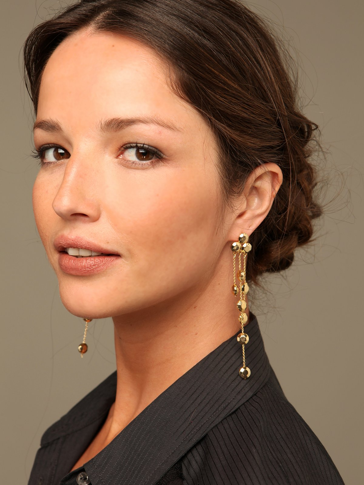 Dripping Studs Earrings