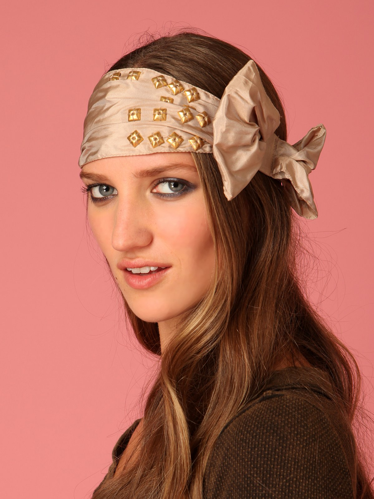 Studded Bow Headband