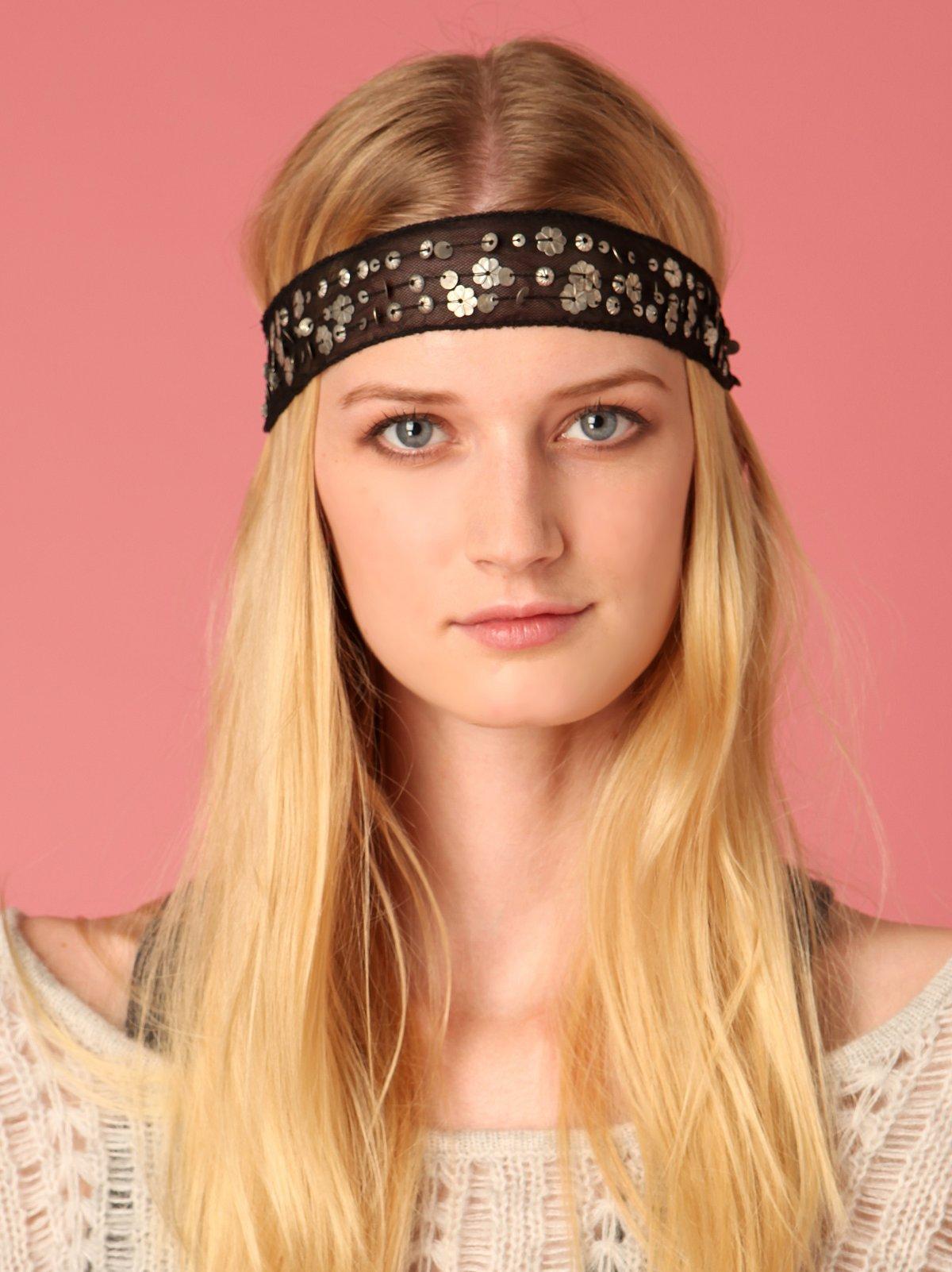 Multi Sequin Headband