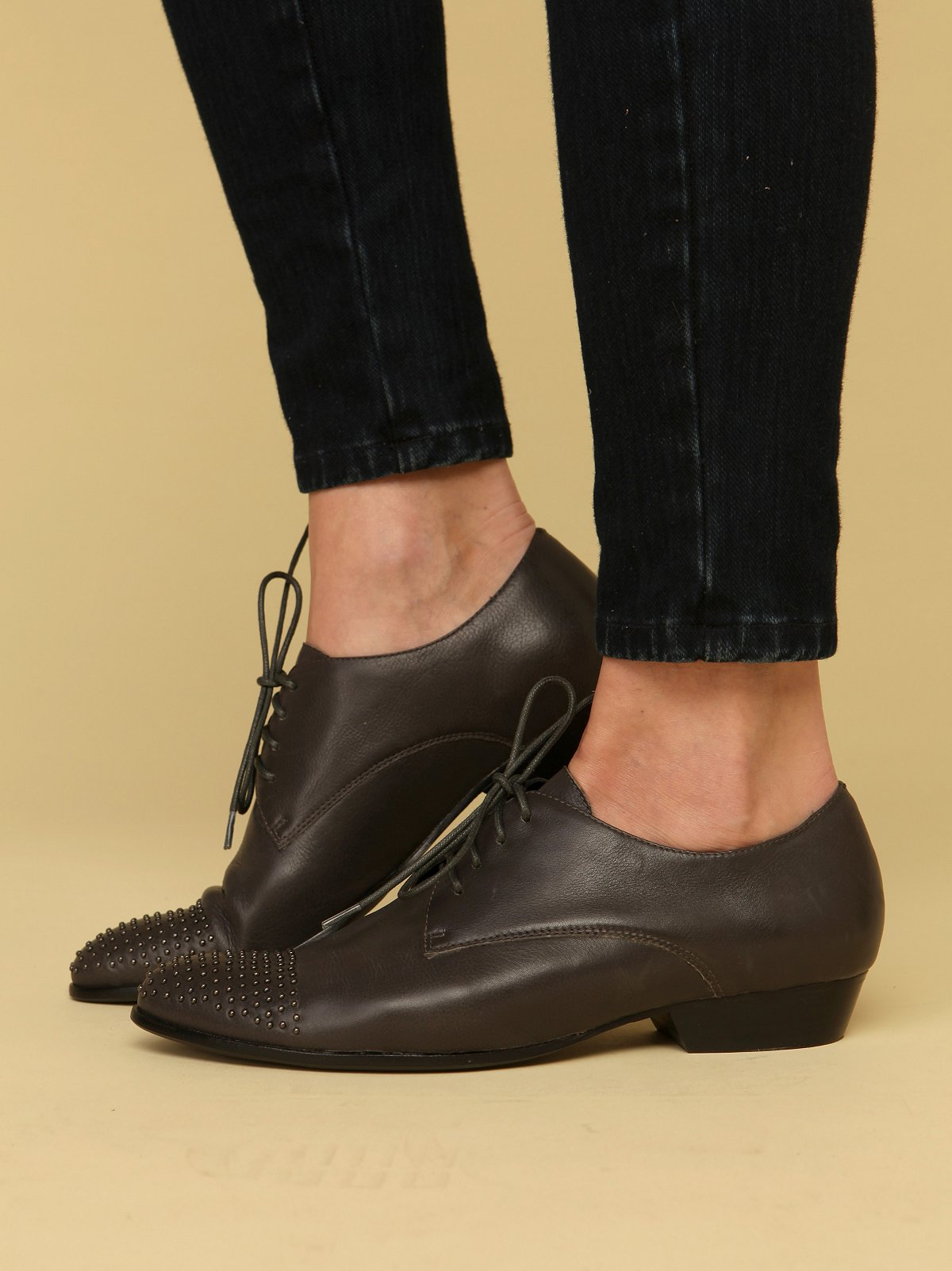 Fallon Studded Tip Oxford