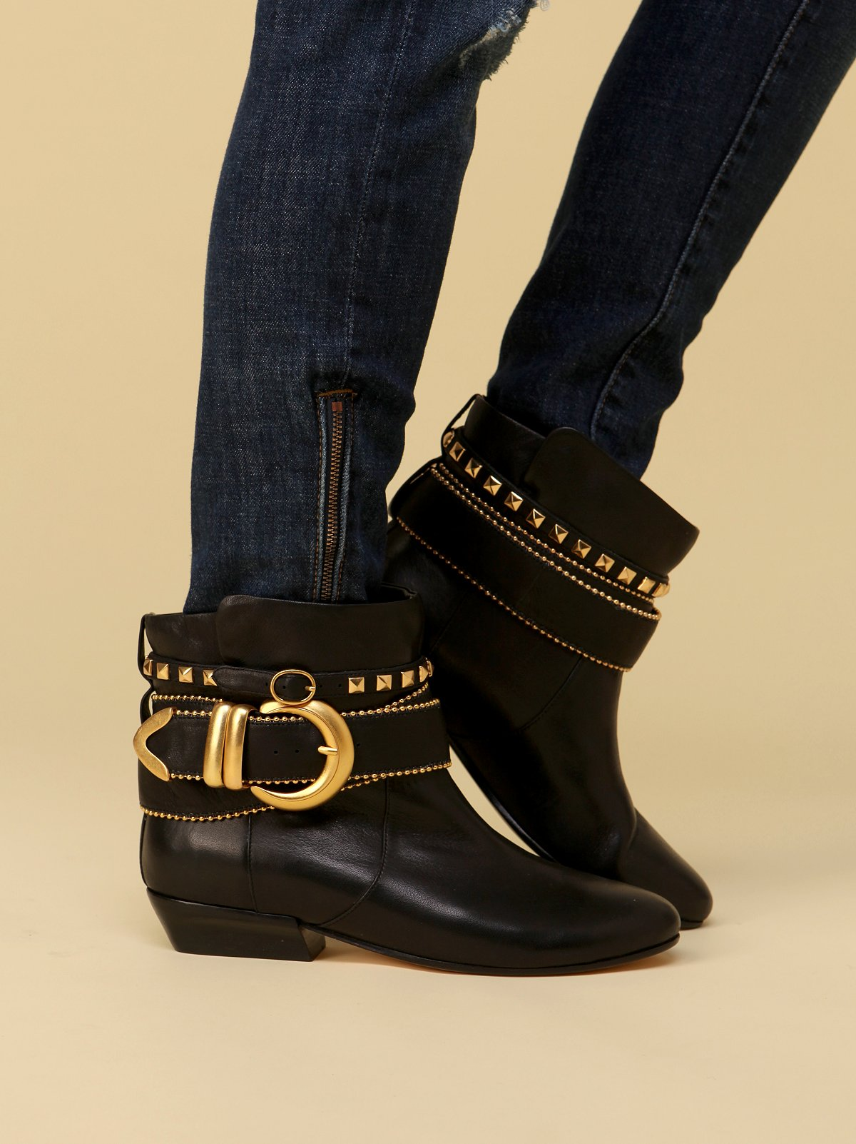Ethan Belted Ankle Boot