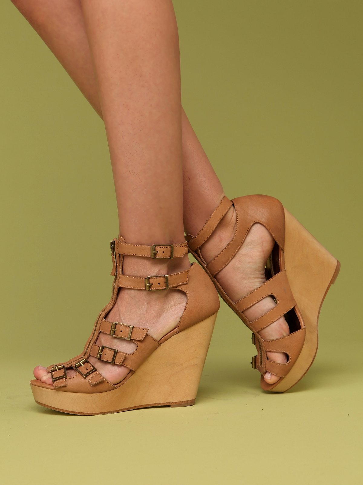 Luella Zip Front Platform by Cynthia Vincent
