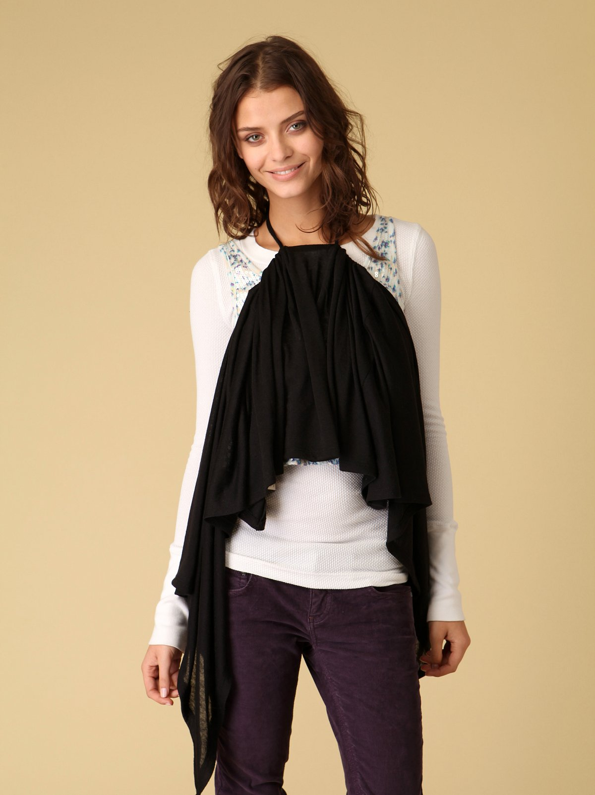 Convertible Halter Swing Wrap