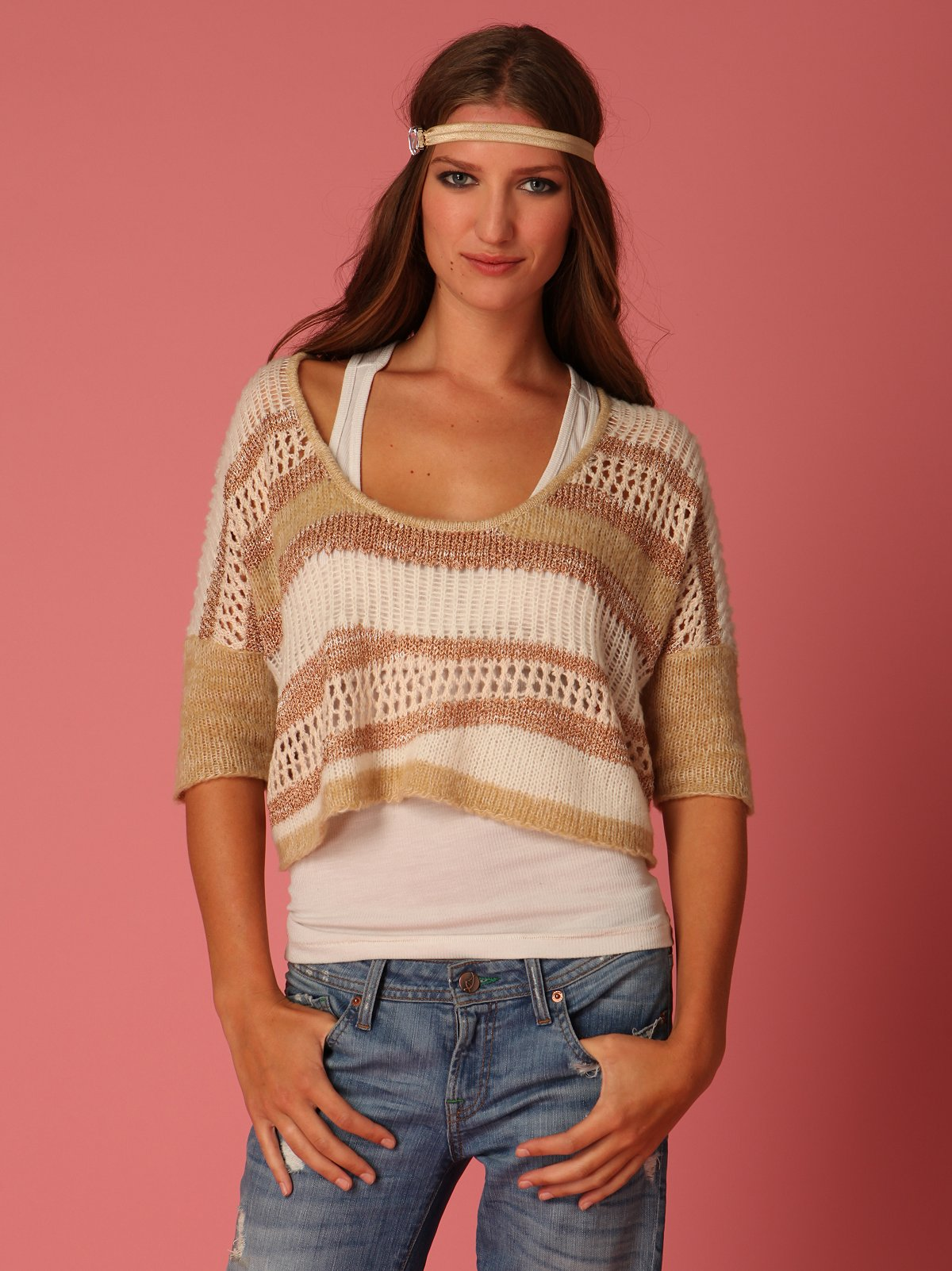 Cloud Nine Cropped Sweater