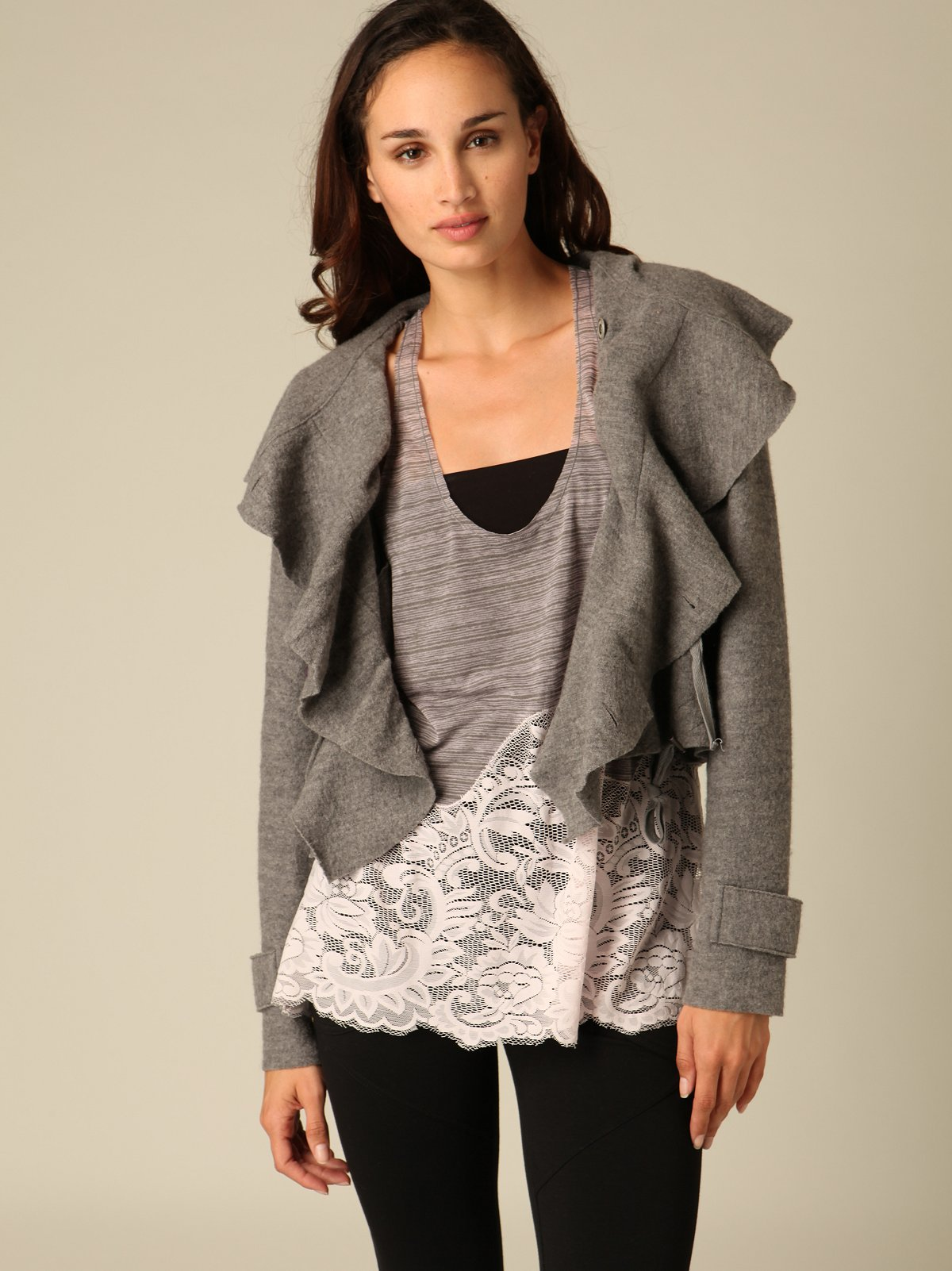 Montara Cinched Sweater Jacket