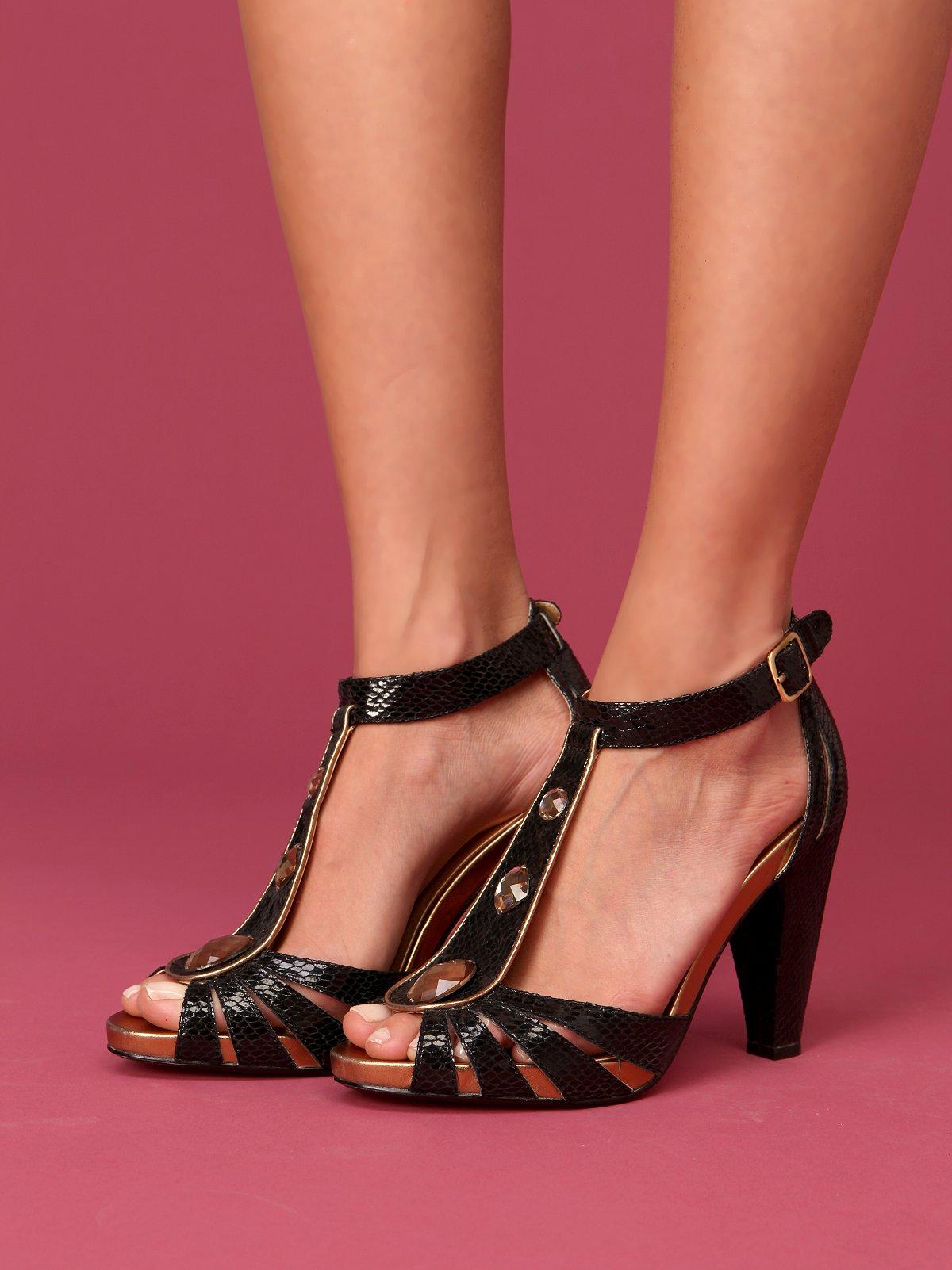 Lam T-Strap Heel