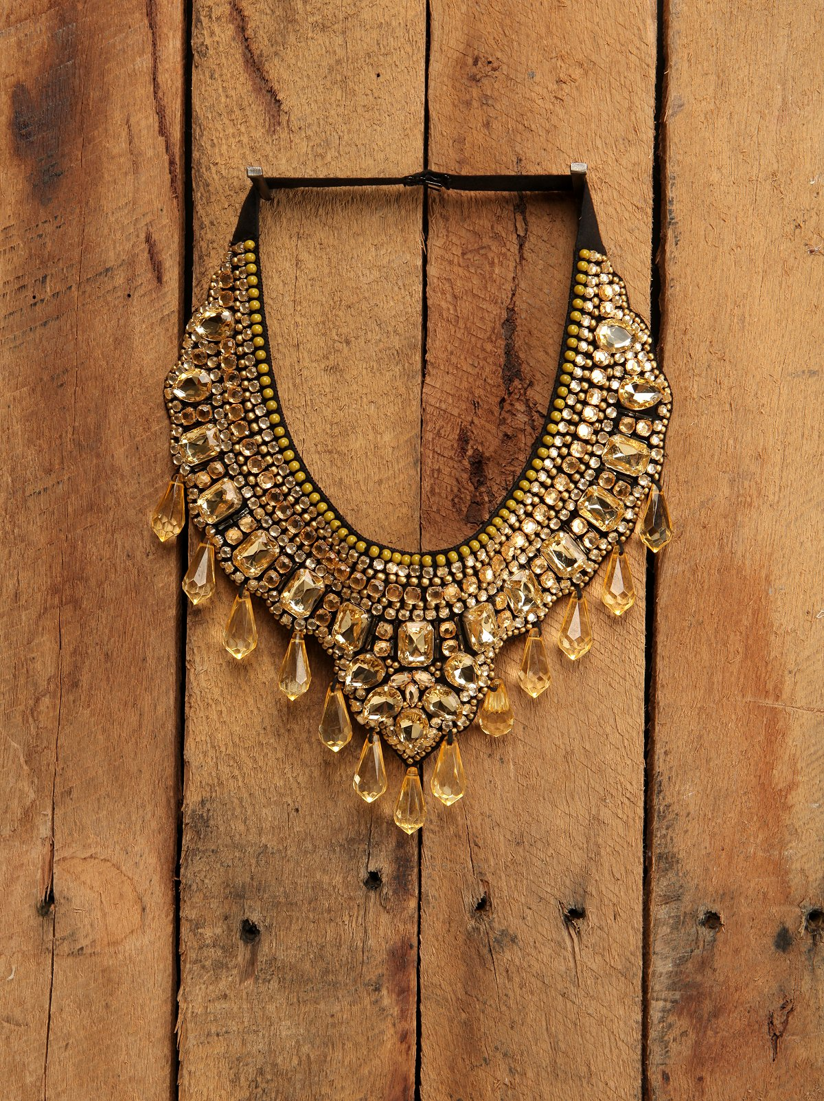 Topaz Bib Necklace