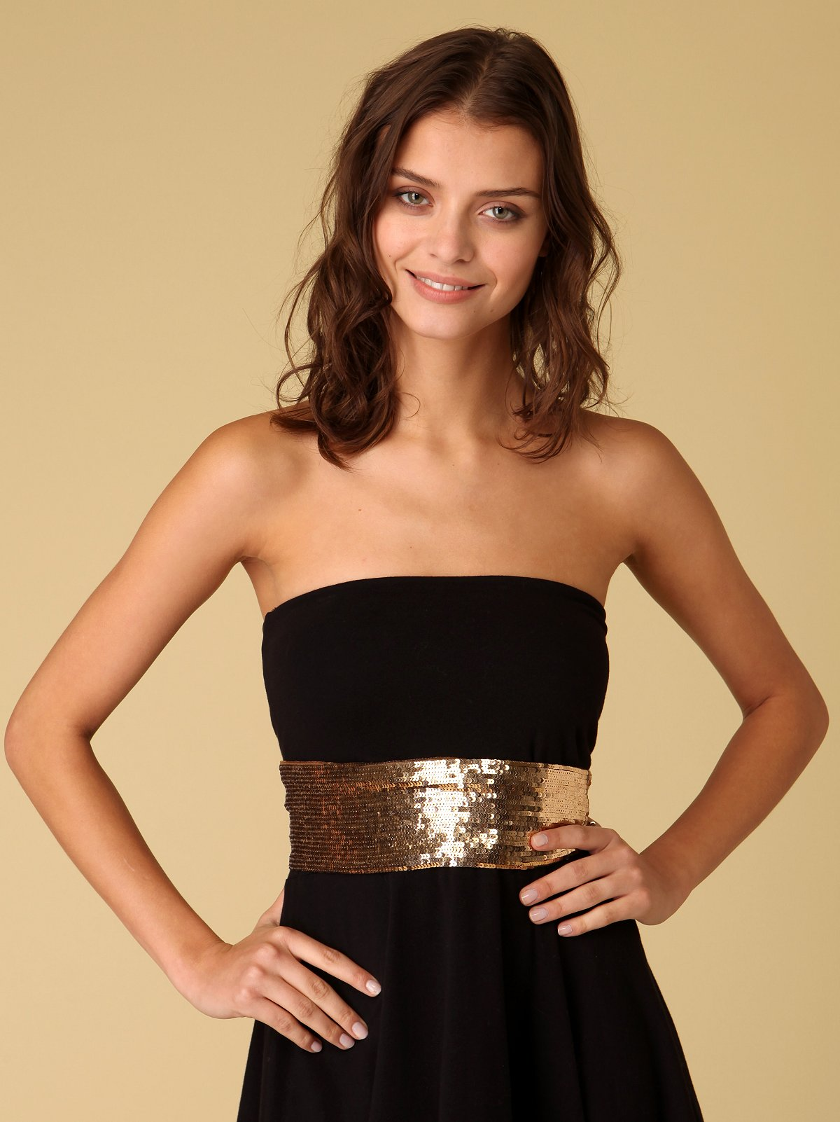 Sequin Sash Belt