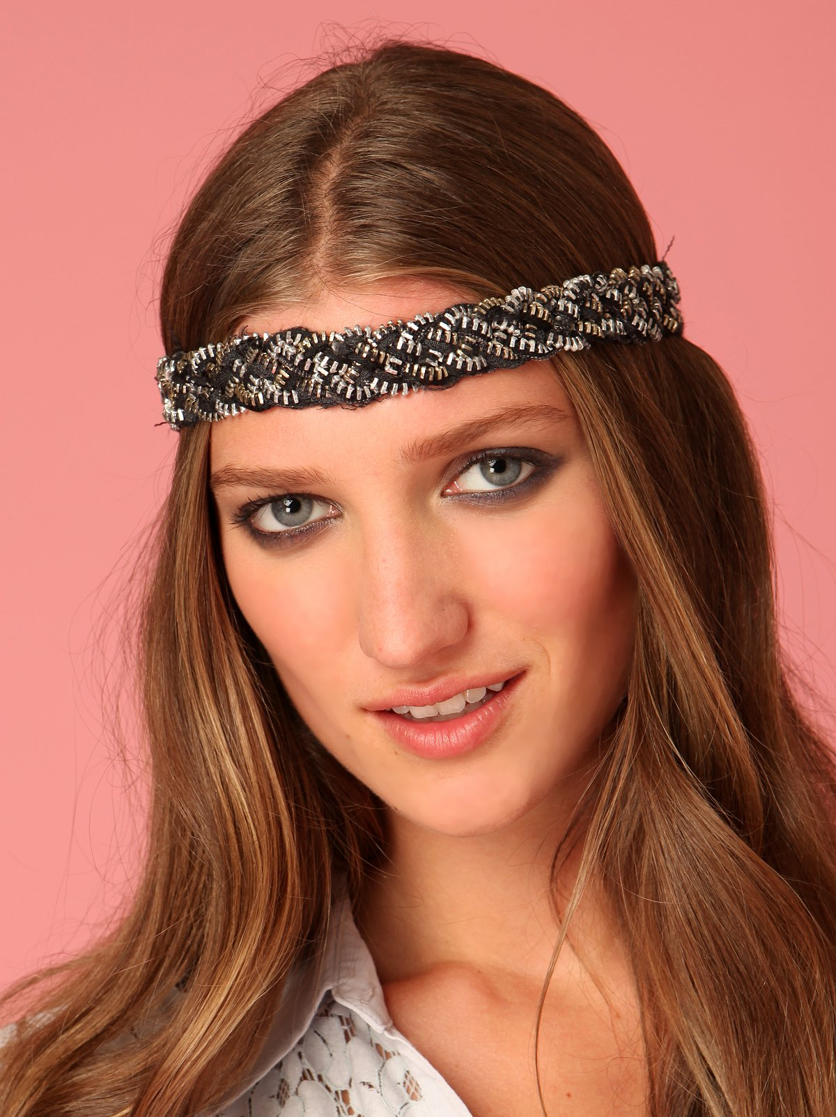 Zipper Braid Headband