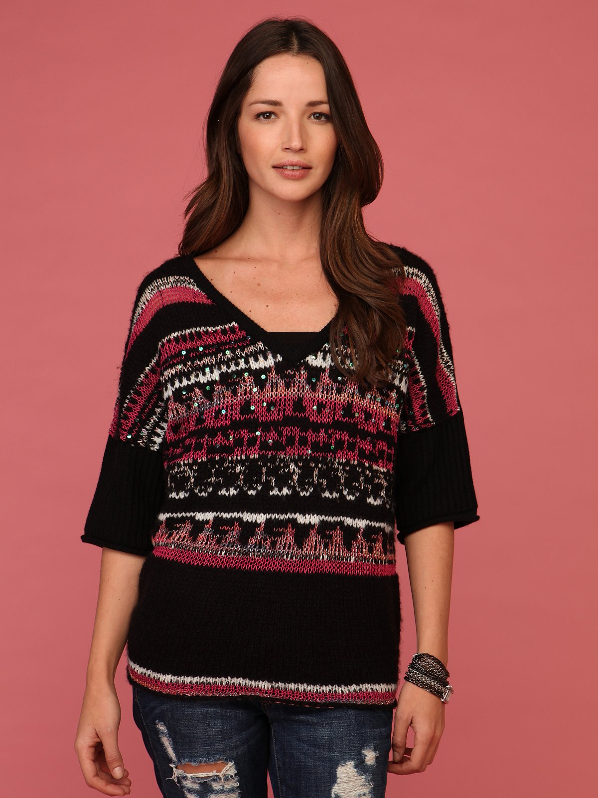 Voluminous Fairisle Sweater
