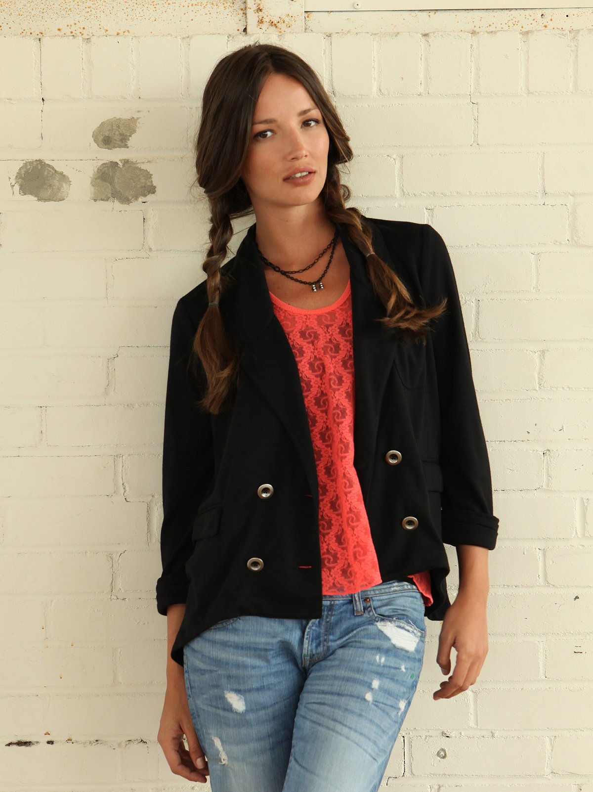 We The Free Drapey Knit Blazer