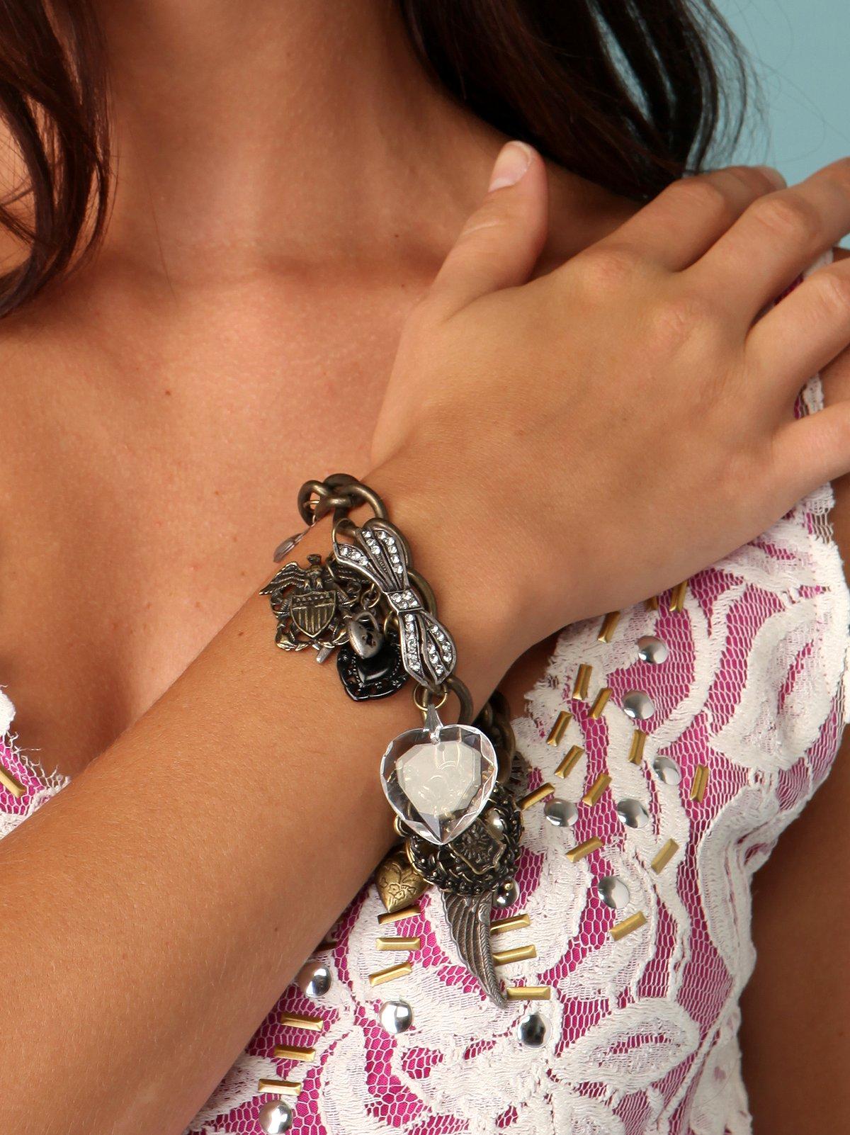 Americana Heart Bracelet