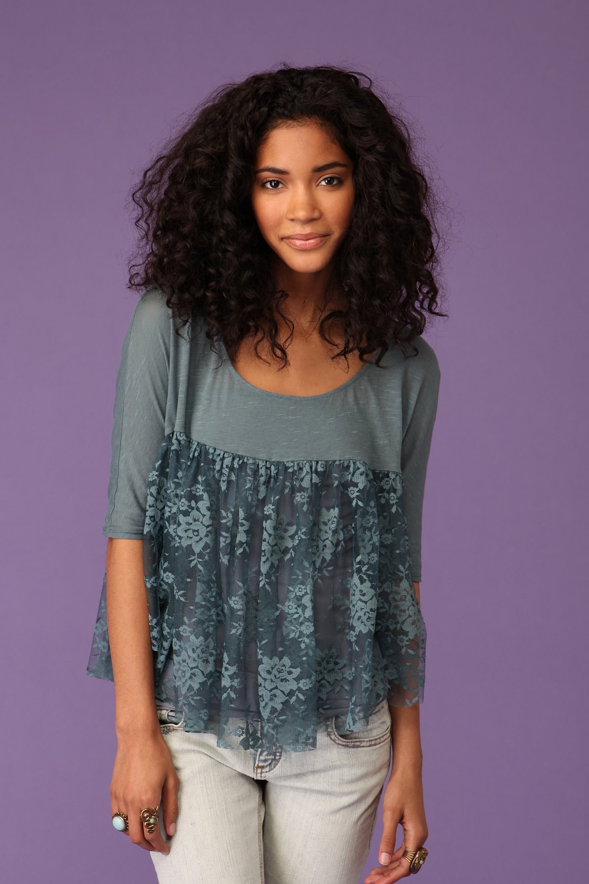 Lace Wings Top