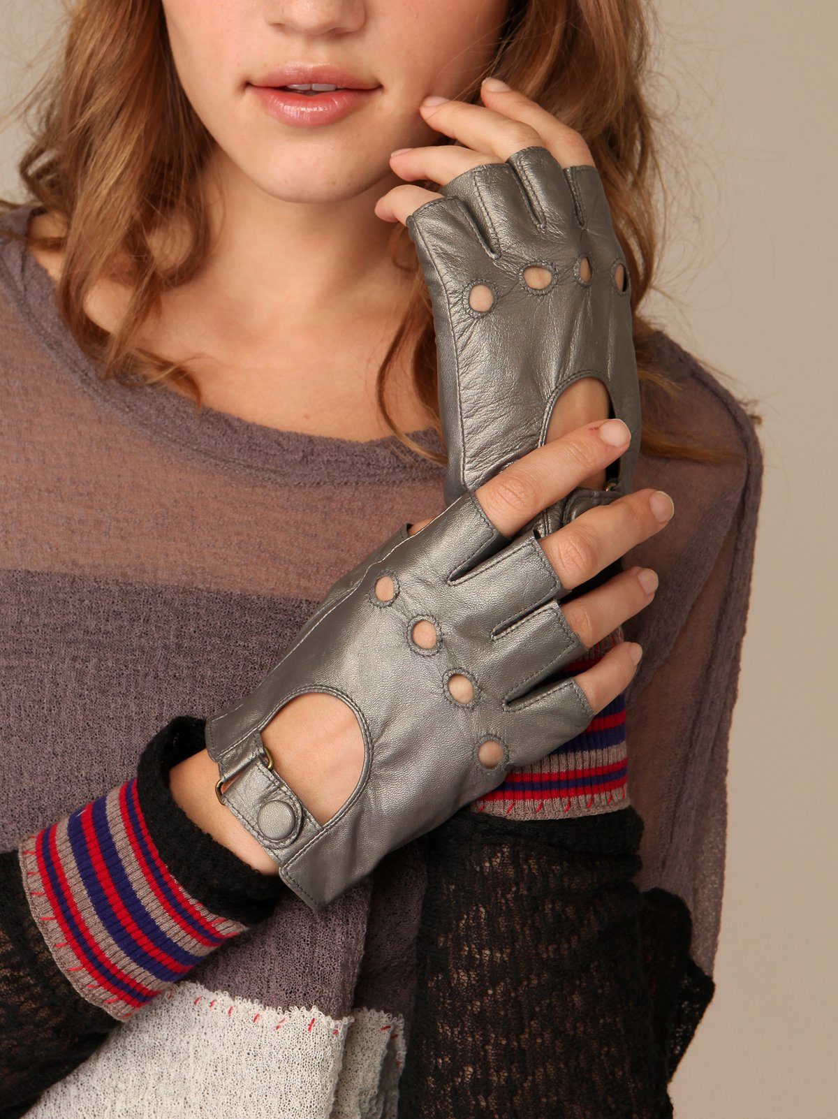 Gunmetal Speed Racer Glove
