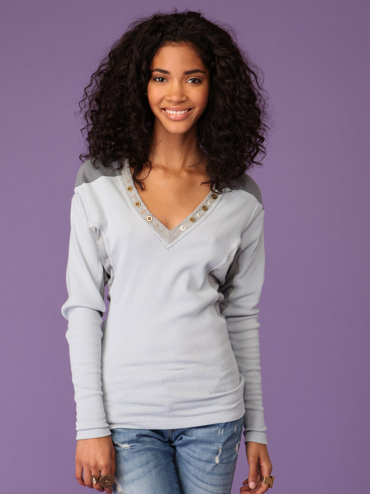 Batwing Studded Thermal