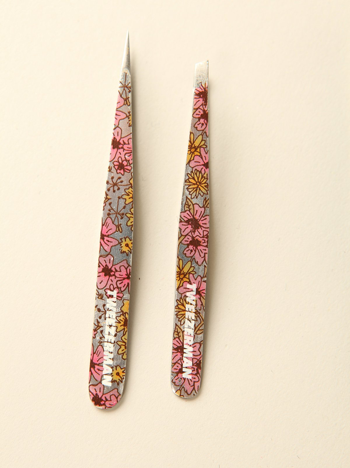 Metallic Tweezer Set