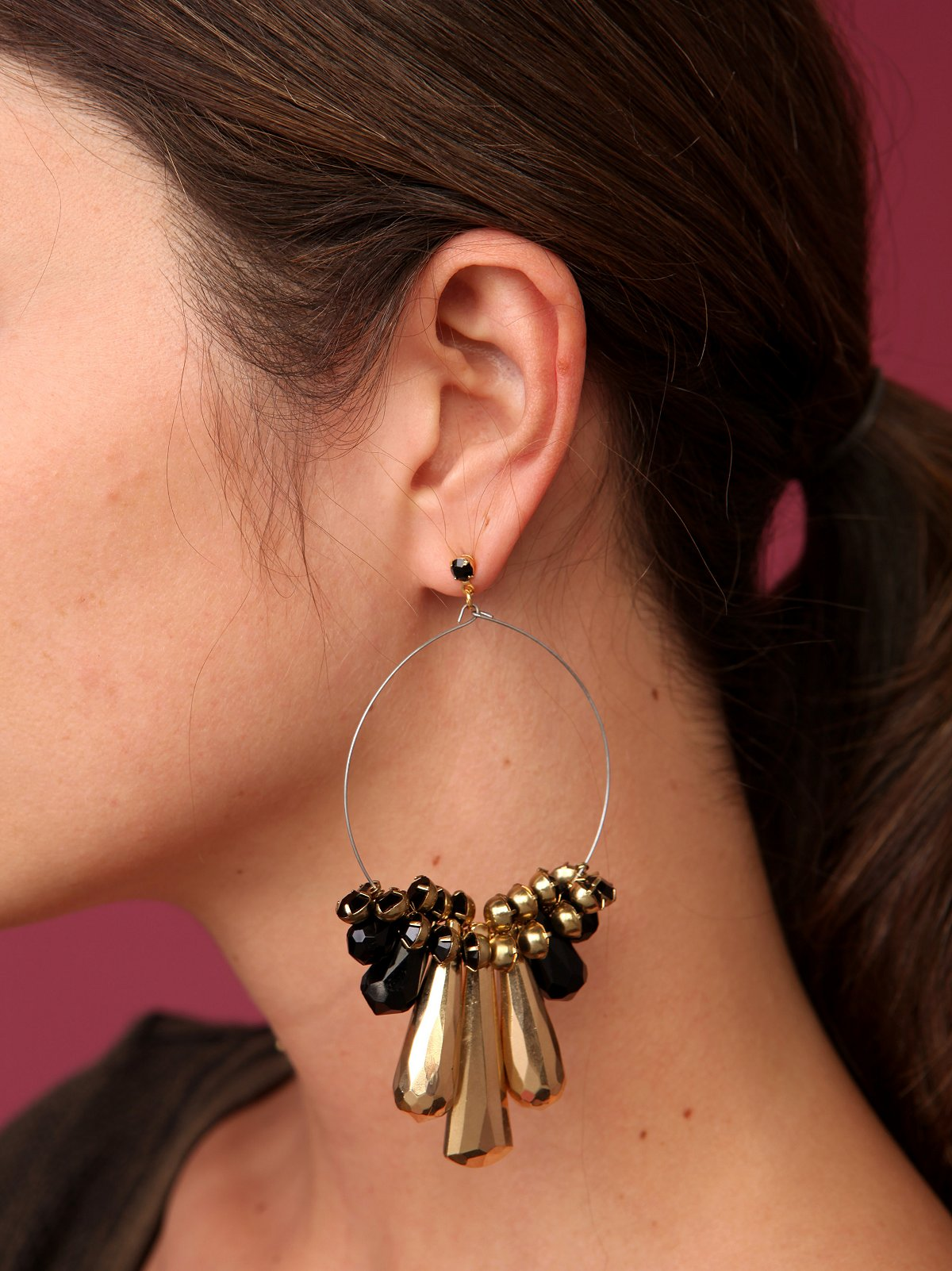 Strike Gold Earrings - removed bc vendor unable to fulfill the order 12/22