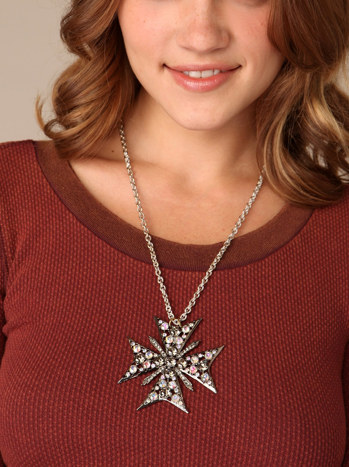 Winter's Circle Necklace