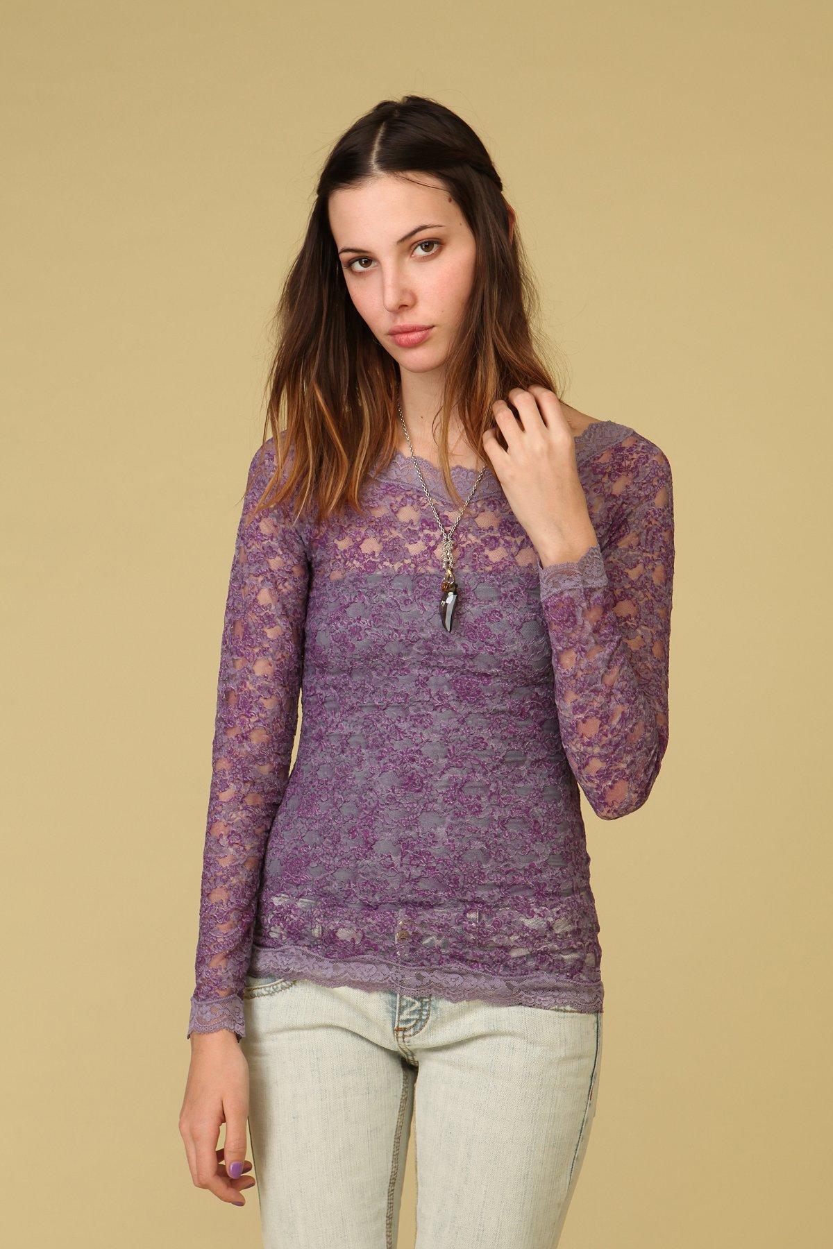 Printed Bronte Lace Top