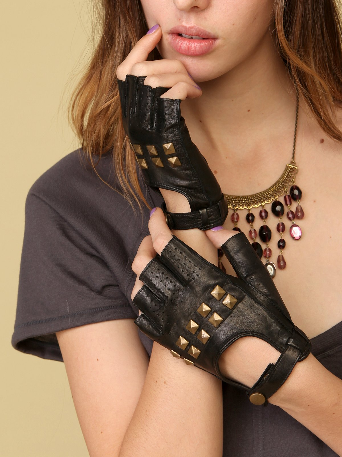 Studded Driver Glove