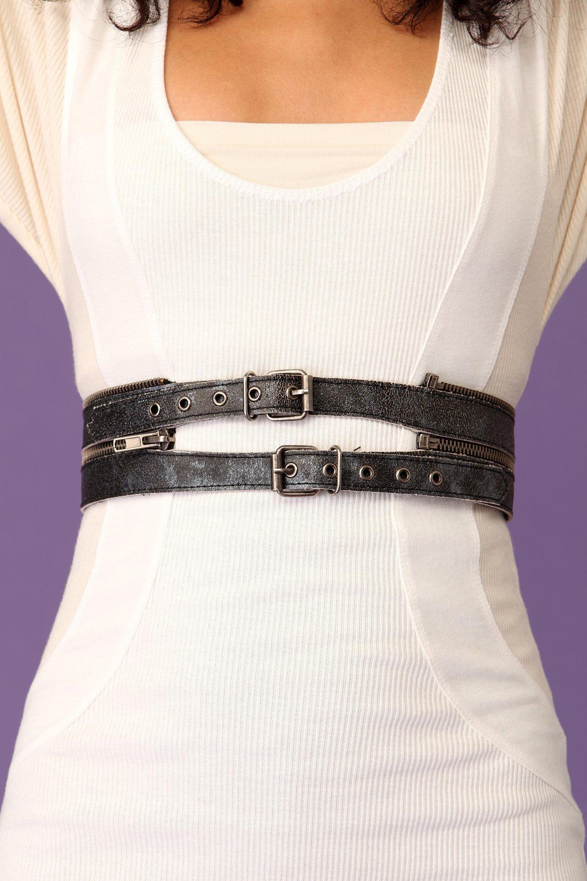 Double Zip Convertible Belt