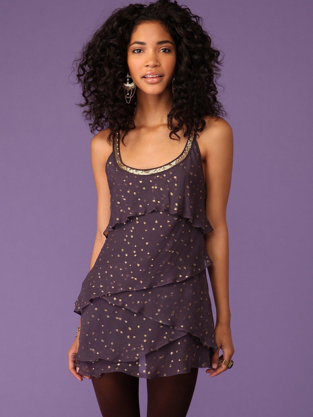 Moonlight Tiers Dress