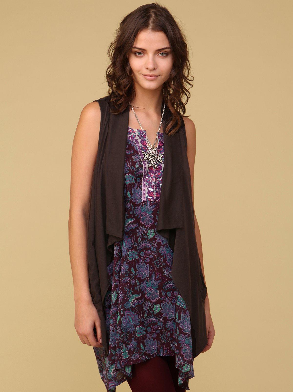 Drippy Knit Vest