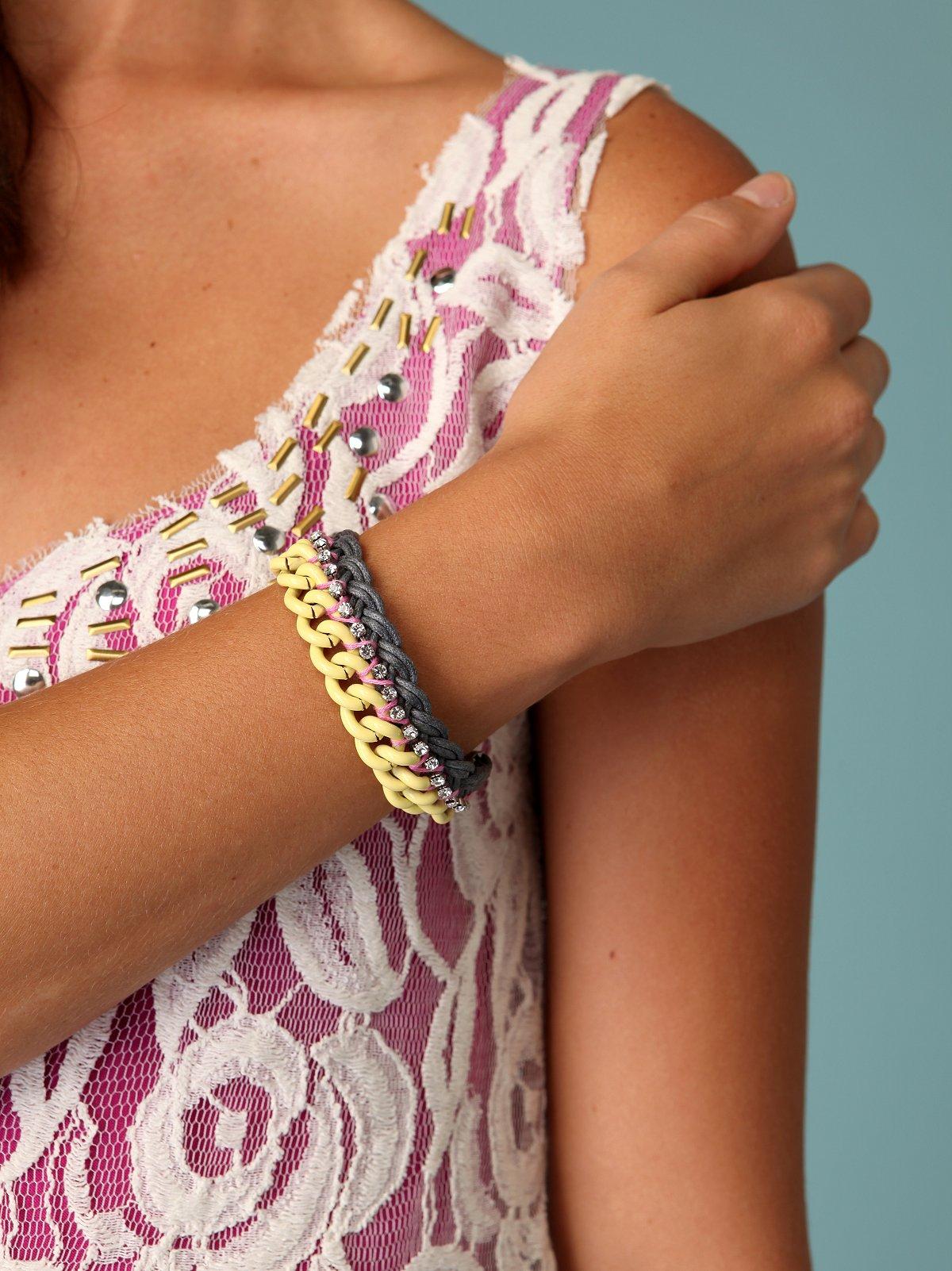 Chain Gem Bracelet