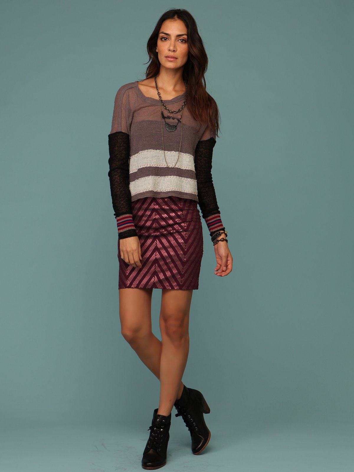 Crosstown Pencil Skirt