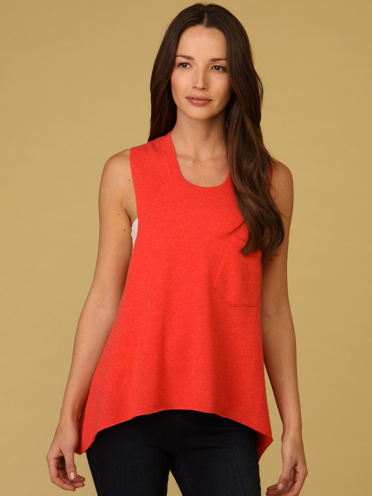 Cashmere Apron Tee