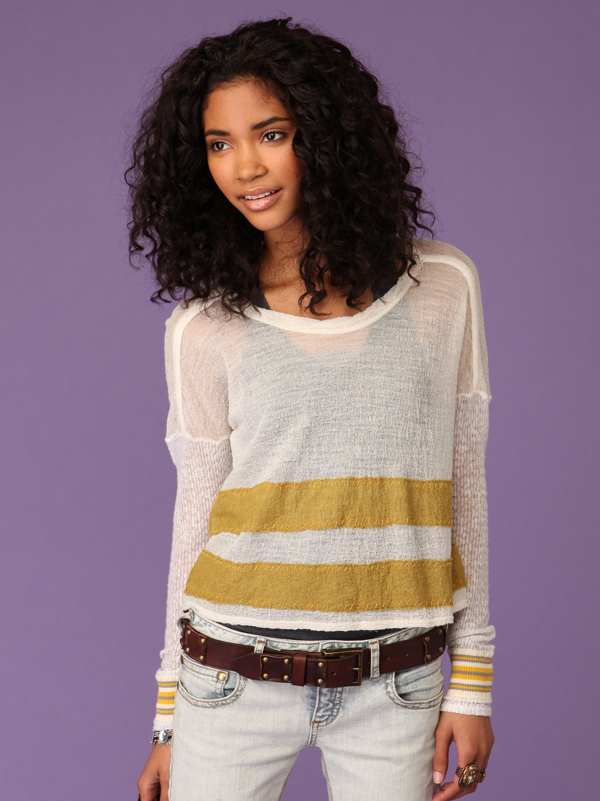Crinkle Wooly Jersey
