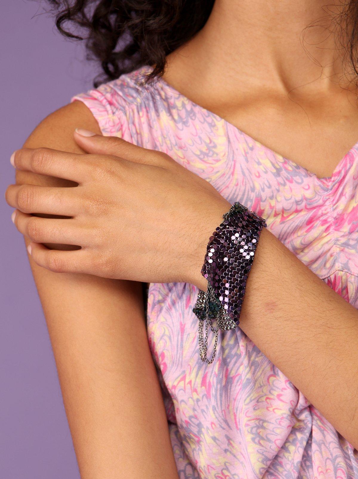 Mesh & Chain Tangled Bracelet