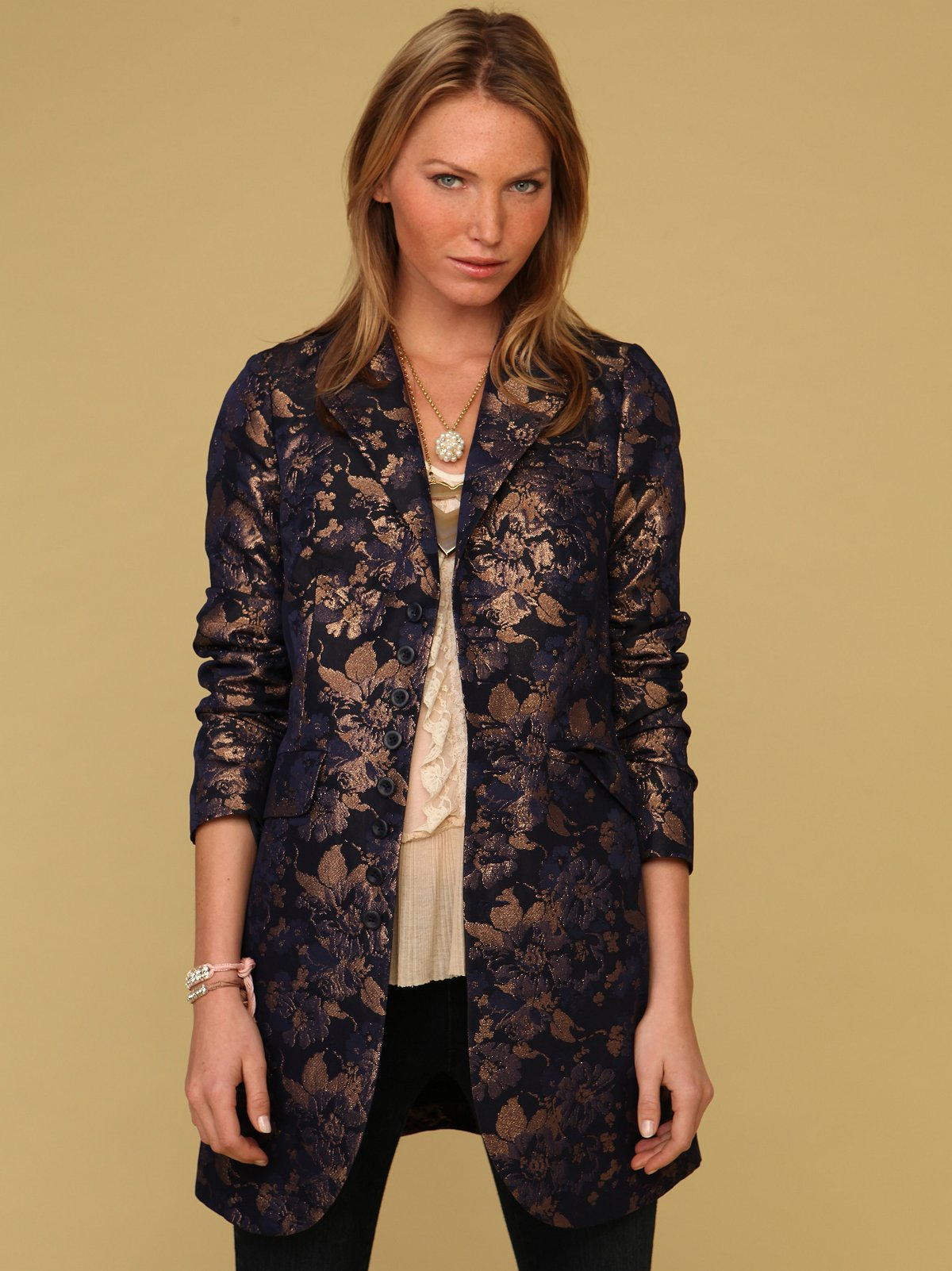 Brocade Boyfriend Jacket