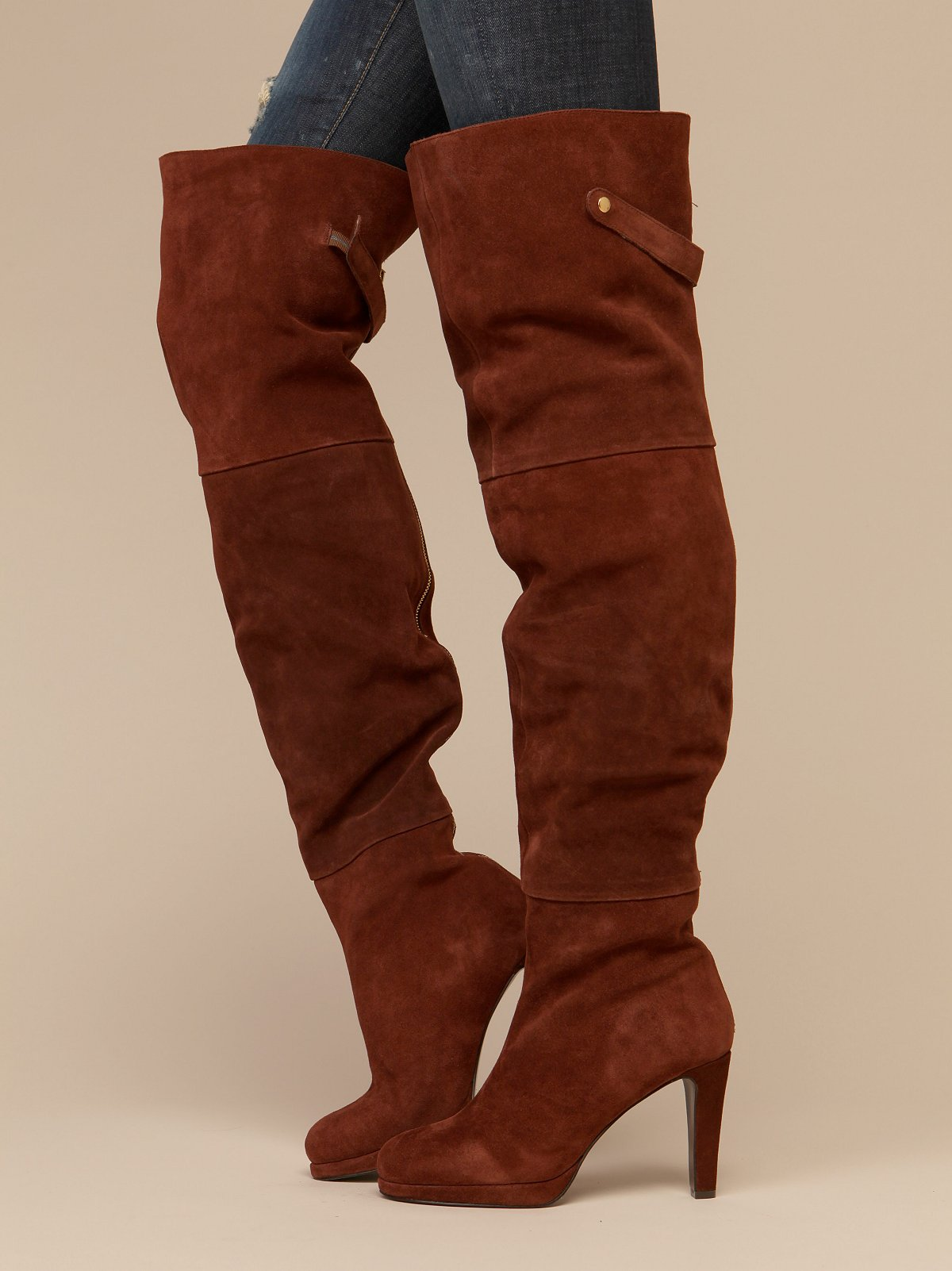 Briallen Thigh Hi Heeled Boot