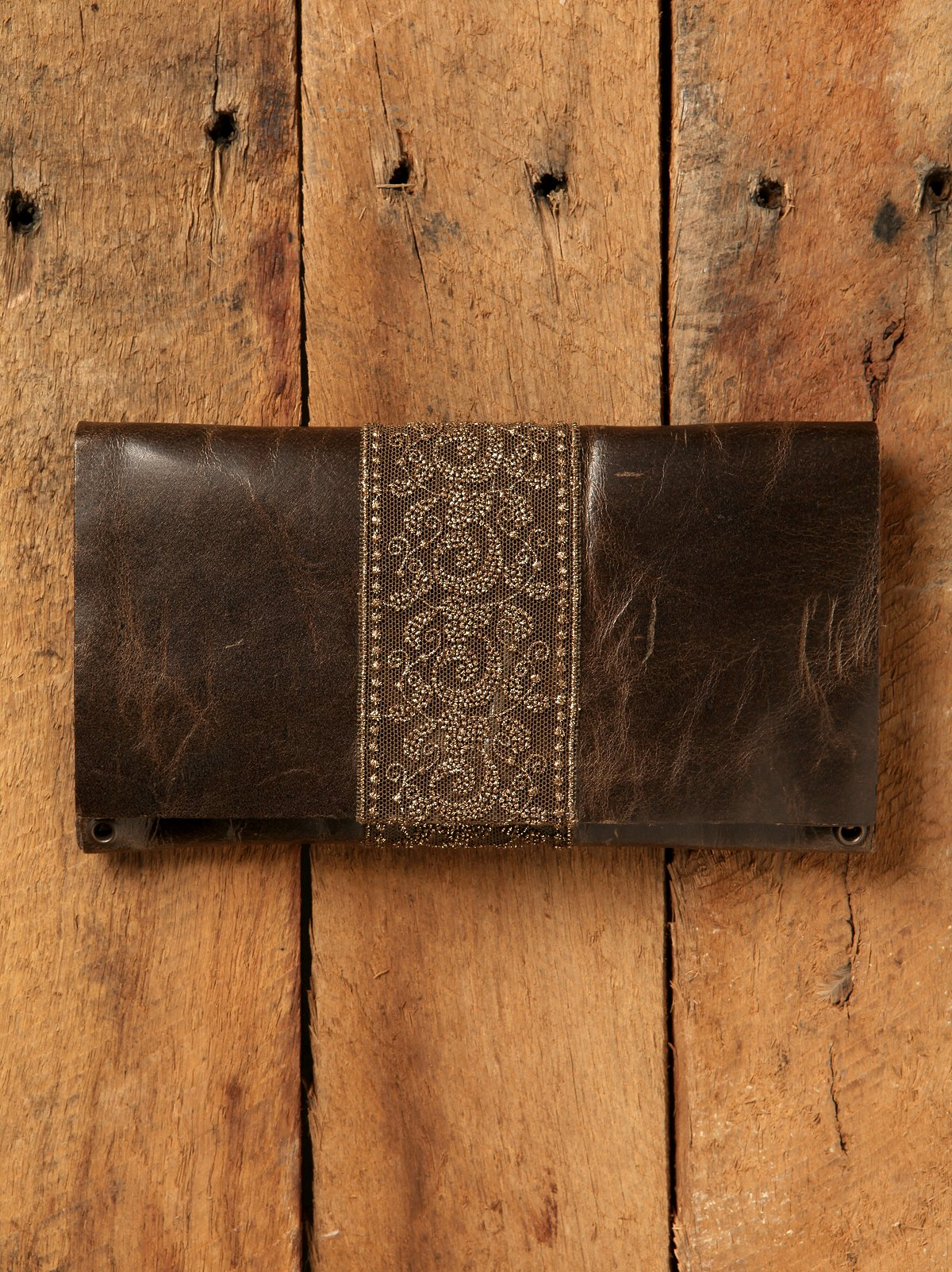Leather and Lace Wallet